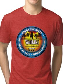 Waikiki ...why Not Tri-blend T-Shirt