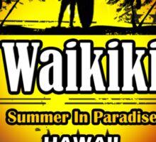 Waikiki ...why Not Sticker
