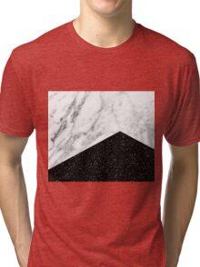 Ebony marble Tri-blend T-Shirt