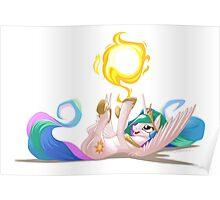 Princess Celestia Sun Tumbler Poster