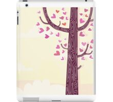 Tree of hearts. Some of trees aren't common trees iPad Case/Skin