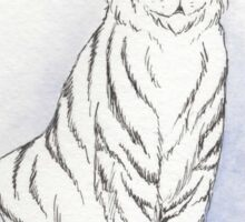 Ghostly Tiger Sticker