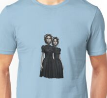 They are coming - the deadly Halloween twins Unisex T-Shirt