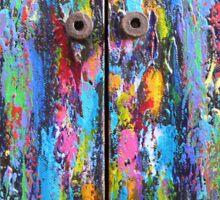 The Old Doors Sticker