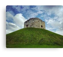Clifford's Tower York Canvas Print