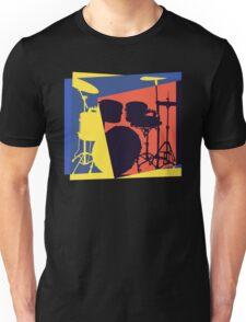 Drum Set Pop Art Unisex T-Shirt