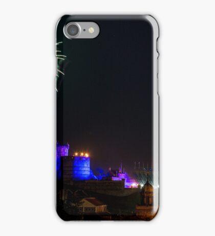 Edinburgh Military Tattoo Fireworks  iPhone Case/Skin