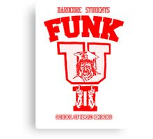 "Terry Funk - ""FUNK U"" t shirt Canvas Print"