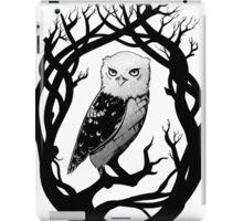 Inkpen Owl iPad Case/Skin