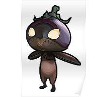 Eggplant Knight Poster