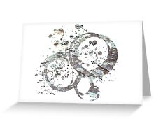 Earth Stains Greeting Card