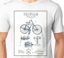 BICYCLE PATENT; Vintage Bike Patent Print Unisex T-Shirt