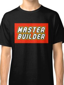 MASTER BUILDER Classic T-Shirt
