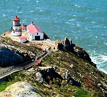 Point Reyes Lighthouse by Nathan Jekich