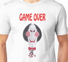 Horror Movie Game Over Caricature Unisex T-Shirt