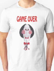 Horror Movie Game Over Caricature T-Shirt