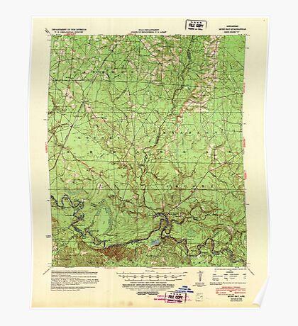 USGS TOPO Map Arkansas AR Moro Bay 260207 1939 62500 Poster