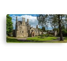 Lauriston Castle Edinburgh Canvas Print
