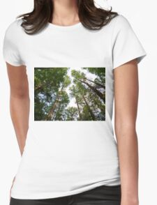 Tall Trees Womens Fitted T-Shirt
