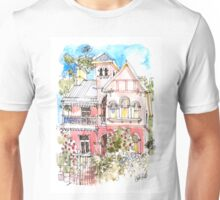 The Pink House on George St Unisex T-Shirt