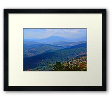 Oklahoma Hills Where I Was Born Framed Print