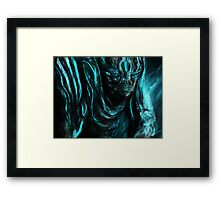 LEATHERBACK Framed Print