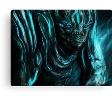 LEATHERBACK Canvas Print