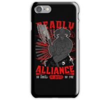 DEADLY ALLIANCE iPhone Case/Skin