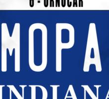 License Plate - MOPAR OR NO CAR Sticker