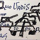 Quo vadis Ваше благородие ?  Cogito ergo sum. by © Andrzej Goszcz,M.D. Ph.D