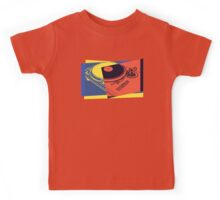 Vintage Turntable Pop Art Kids Tee