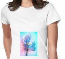 Poppy Art Womens Fitted T-Shirt