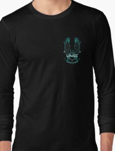 Halo 4 UNSC logo Long Sleeve T-Shirt