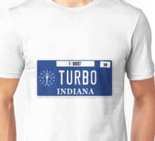 License Plate - TURBO BOOST Unisex T-Shirt