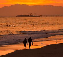 Sunset Stroll by CarolM