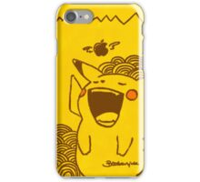 Hungry Pikachu (For Apple iPhone) iPhone Case/Skin