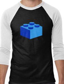 2 X 2 BRICK Men's Baseball ¾ T-Shirt
