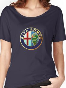 Alfa Romeo Merchandise Women's Relaxed Fit T-Shirt