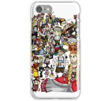 Renaissance Map of Germany iPhone Case/Skin
