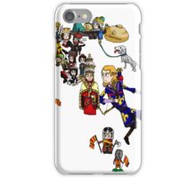 Renaissance Map of Italy iPhone Case/Skin