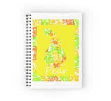 Decorative Pear Spiral Notebook