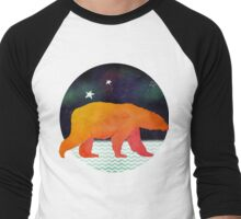 Technicolour safari - Aurora bear Men's Baseball ¾ T-Shirt