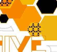 deus ex human evolution hive Sticker