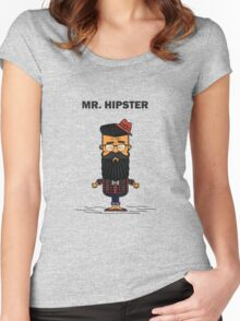 Mister Hipster Women's Fitted Scoop T-Shirt