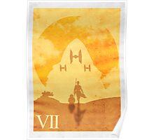 Episode VII - Minimalist Print Poster