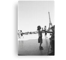 Eiffel Tower. Paris. France. Ice Cream ® Canvas Print