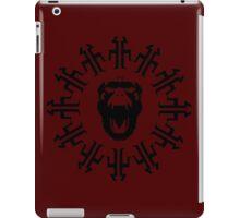 Titan clock - 12 monkeys iPad Case/Skin