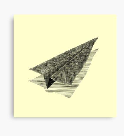 Paper Airplane 13 Canvas Print