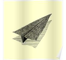 Paper Airplane 13 Poster