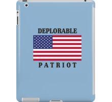 Deplorable Patriot Design iPad Case/Skin